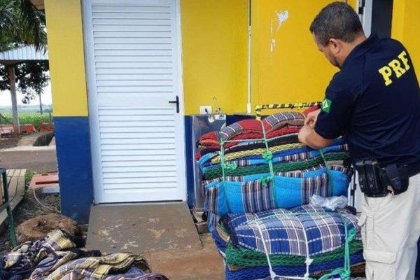 Morador de São Bento é preso no Paraná após ser flagrado transportando drogas em carga de redes