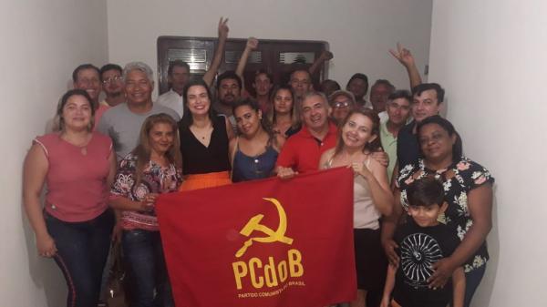 """PC do B deve lançar Osnildo Silveira para Prefeitura de Sousa; Gregória diz que """"nome é fácil de ser trabalhado"""""""