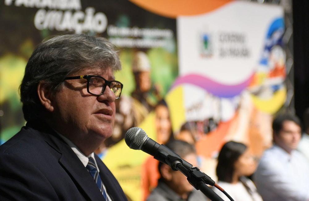 Governador João Azevedo (sem partido). Foto: José Marques/Secom