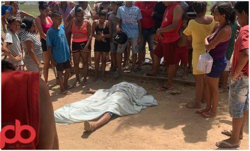Presidiário é morto em Sousa. (Foto: Repórter PB).