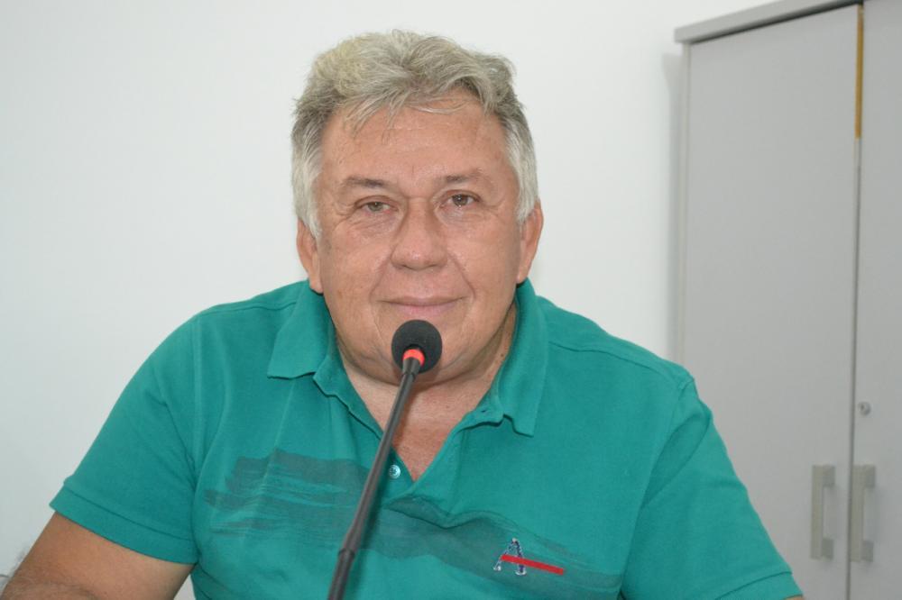 Ex-vereador Augusto Vieira, MDB. (Foto: Reprodução).
