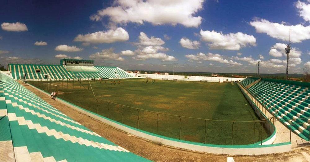 Estádio Marizão em Sousa. Foto: Reprodução