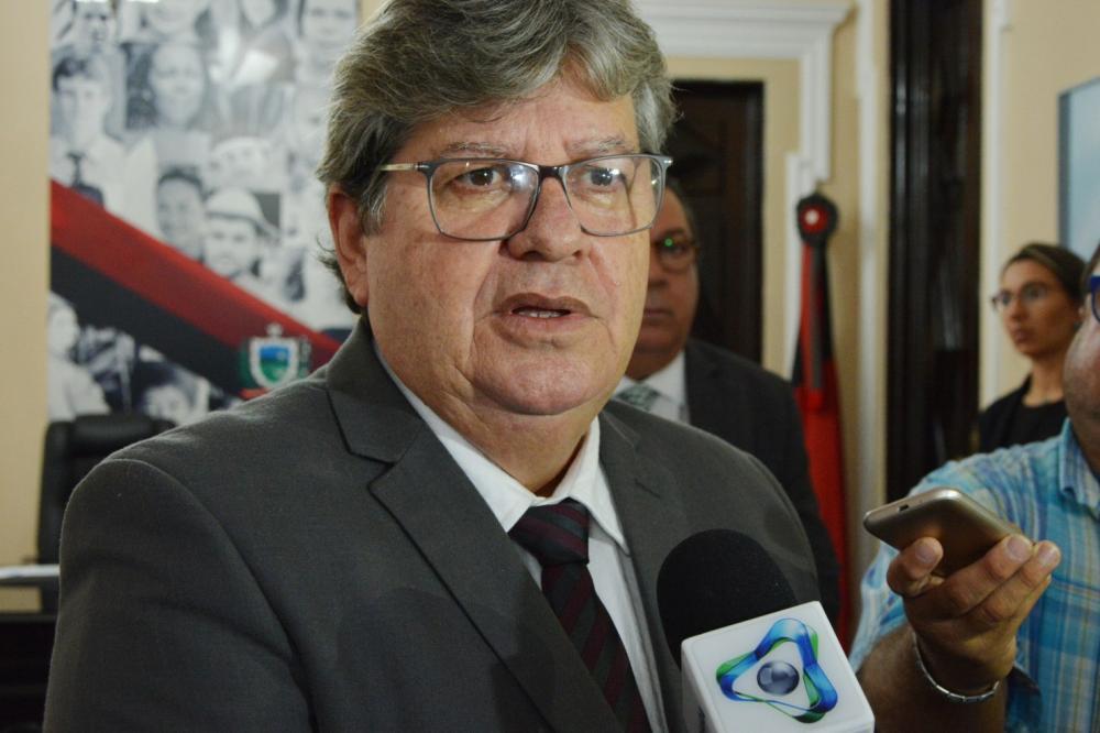 Governador João Azevedo (sem partido). Foto: Reprodução
