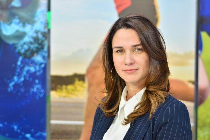Presidenta Federação Paraibana de Futebol, Michelle Ramalho. (Foto: Reprodução).