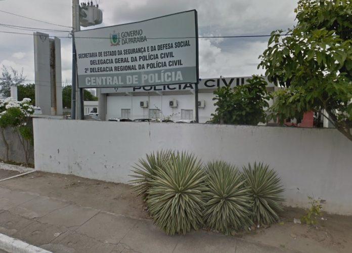 Central de Polícia de Campina Grande. Foto: Reprodução