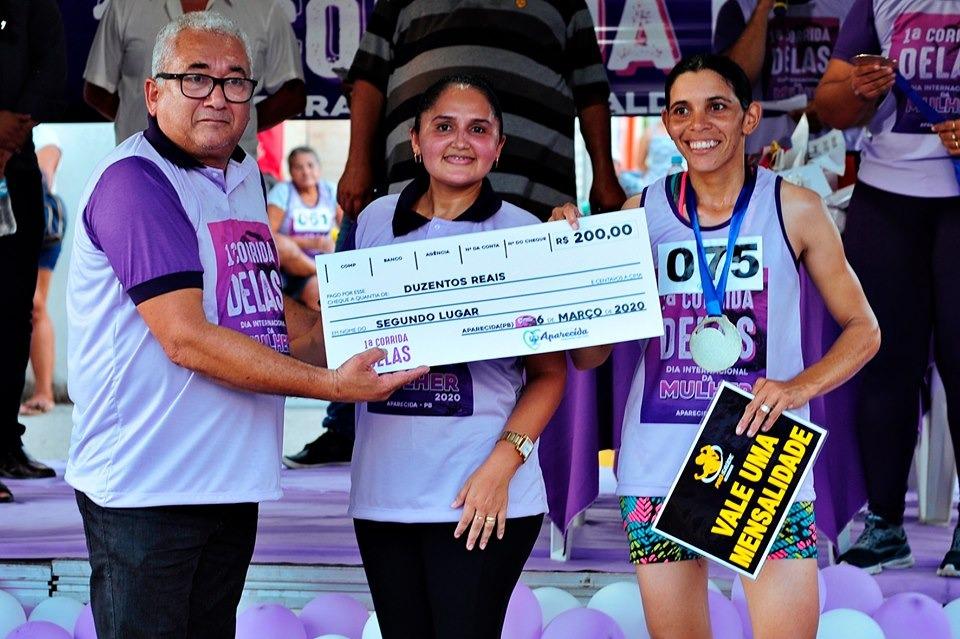 Dia internacional da Mulher: Prefeitura de Aparecida realiza corrida
