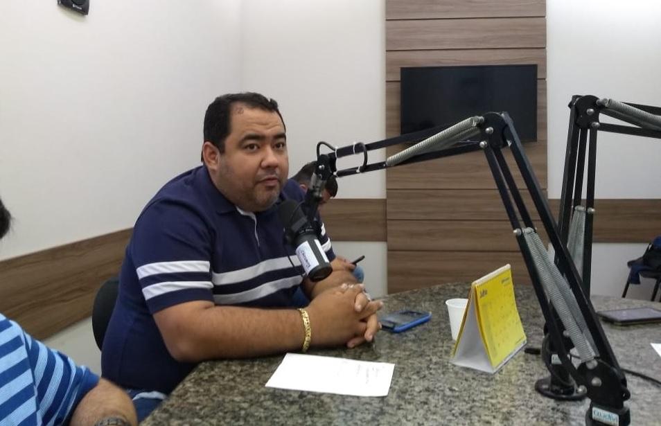 Diretor-presidente do Paraíba de Prêmios, Denys Machado. (Foto: Reprodução).