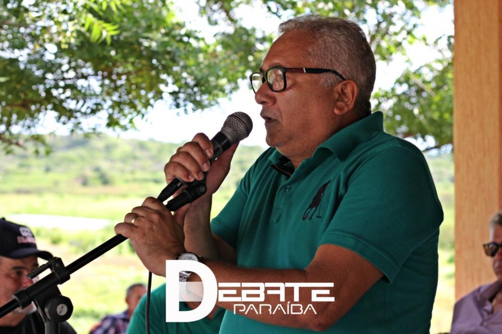 Prefeito do município de Aparecida, Valdemir Oliveira. (Foto: Debate Paraíba).