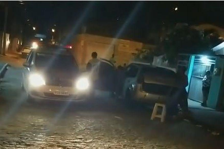 A Policia foi acionada, mas até o momento não sabe informar a causa do crime e quem cometeu. (Foto: Reprodução).