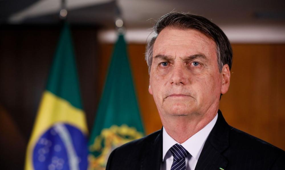 Presidente Jair Bolsonaro. (Foto: Reprodução).