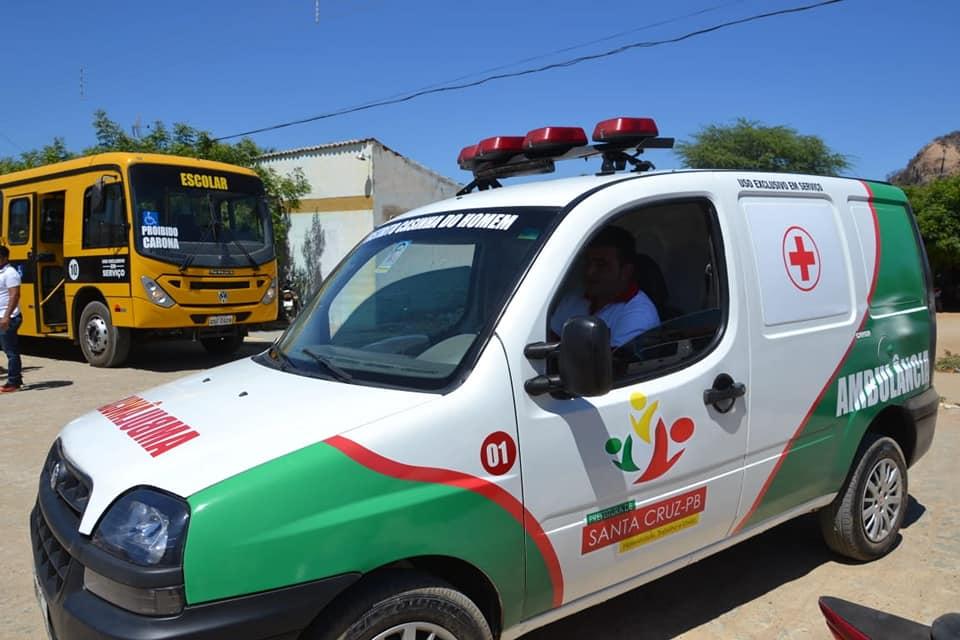 Após denúncia de vereadores, MPF abre inquérito para apurar supostas irregularidades em aquisição de ambulância pela prefeitura de Santa Cruz