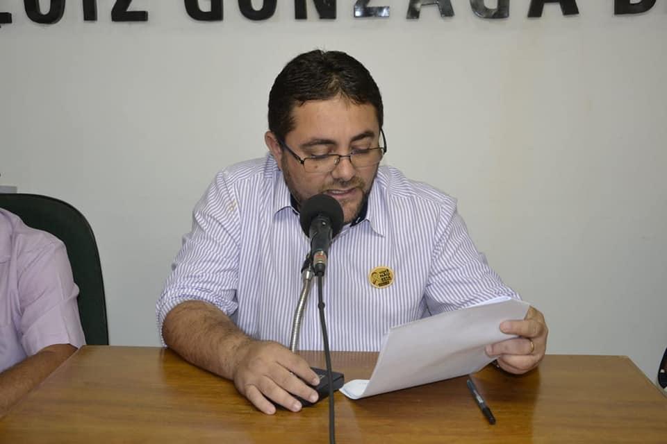 Prefeito do município de Santa Cruz-PB, Paulo César Ferreira. (Foto: Reprodução).