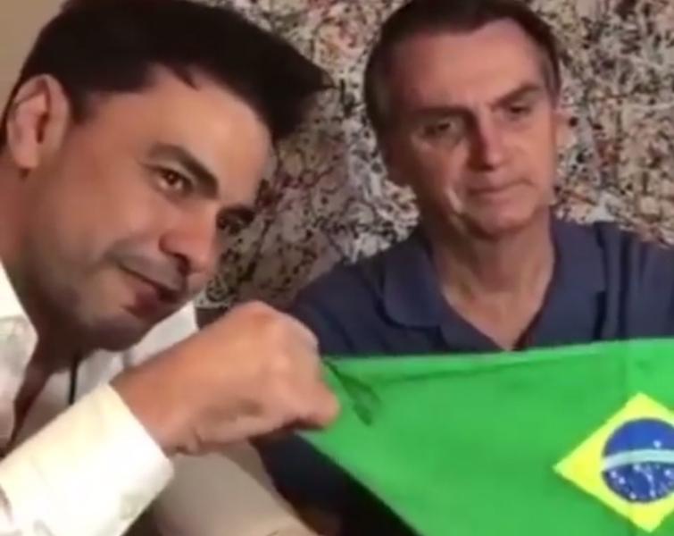 Zezé di Camargo diz que apoia e 'votaria novamente em Bolsonaro'