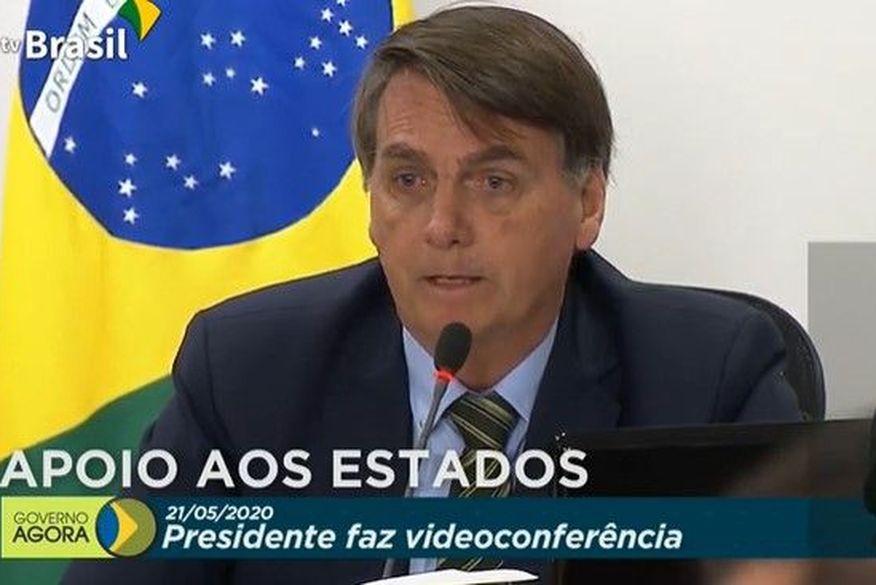 Bolsonaro se reúne com governadores nesta quinta (Foto: Reprodução).