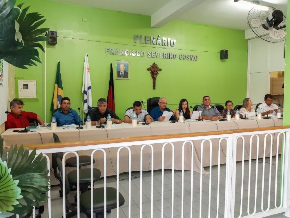 Câmara Municipal de Aparecida realiza sessão remota. (Foto: Reprodução).