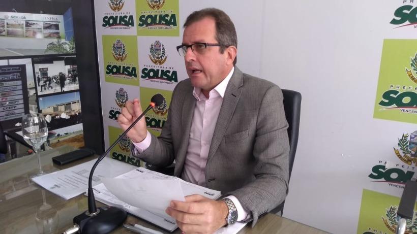 Processo que pode afastar Fábio Tyrone da prefeitura de Sousa está concluso para julgamento no STF