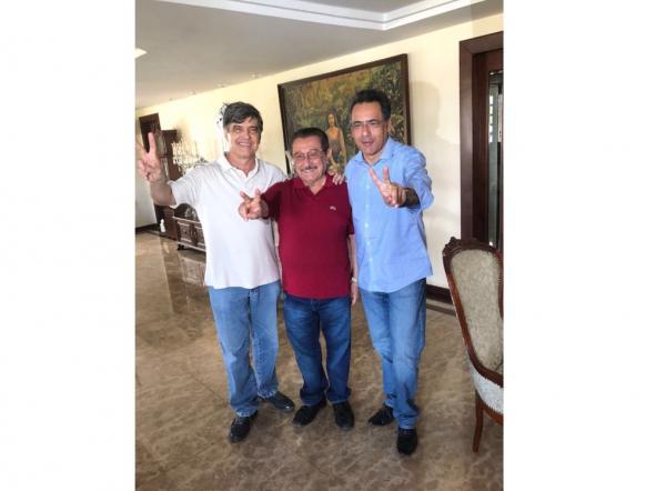 Zé Maranhão recebe apoio do líder e ex-prefeito de Mogeiro, Antônio Ferreira