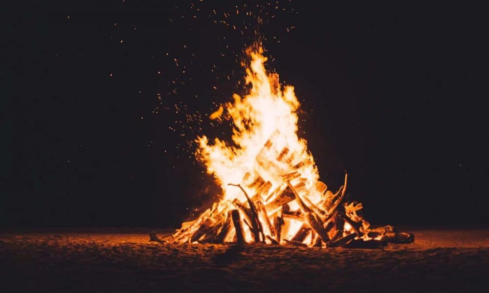Lei proíbe acender fogueiras na Paraíba. (Foto: Reprodução).