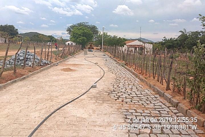 Ministério libera última parcela de convênio para pavimentação em vias publicas de Vieirópolis