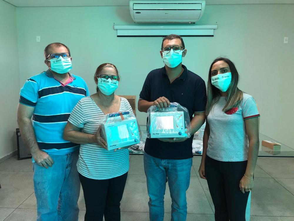 Prefeitura Municipal de Uiraúna recebe investimento de mais de R$ 90 mil em novos respiradores para o Samu
