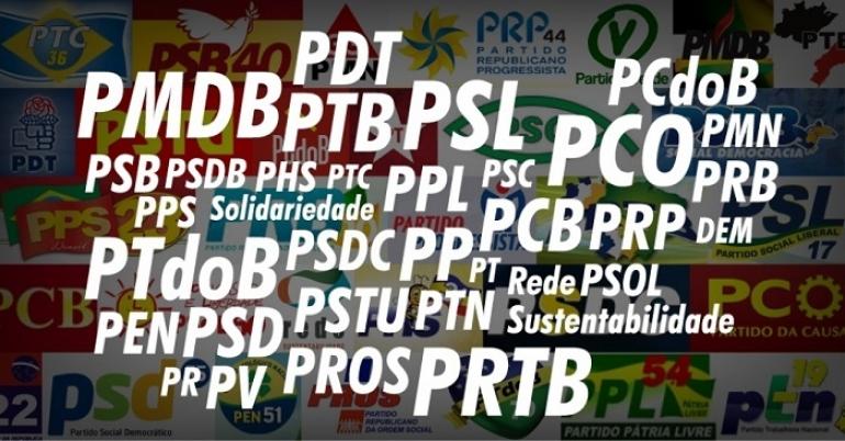 """Os Partidos Políticos na """"festa da democracia"""""""