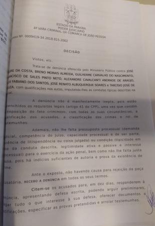 Justiça da Paraíba afasta cinco dirigentes acusados de corrupção no futebol