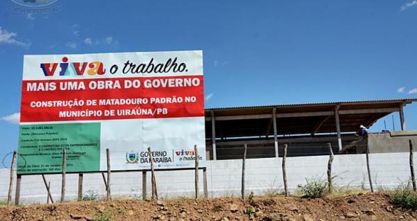 Governador Ricardo Coutinho deve terminar o mandato sem entregar o matadouro regional em Uiraúna