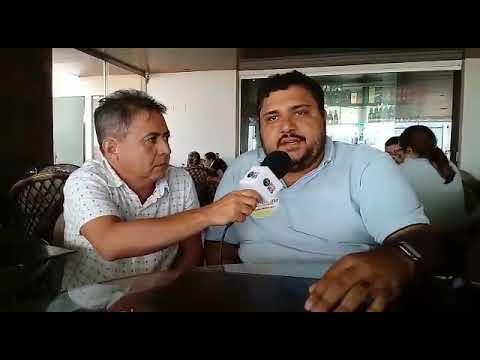 Pablo Figueiredo reúne imprensa de Sousa durante almoço e traça estratégias para as eleições 2020