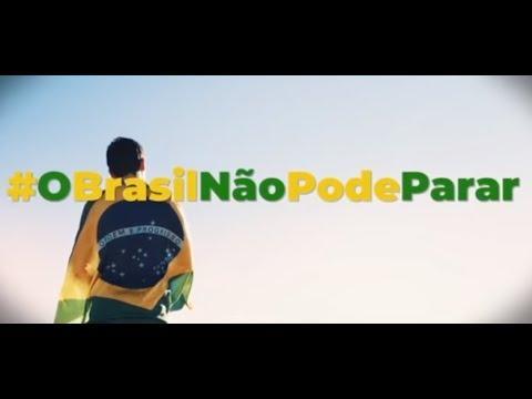 8,2 mil inscritos Propaganda do governo Bolsonaro pede fim de paralisação por causa do Covid-19